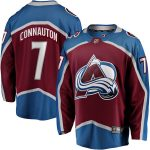 Fanatics Branded Kevin Connauton Colorado Avalanche Burgundy Breakaway Player Jersey