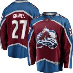 Fanatics Branded Ryan Graves Colorado Avalanche Burgundy Breakaway Player Jersey