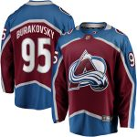 Fanatics Branded Andre Burakovsky Colorado Avalanche Burgundy Team Color Breakaway Player Jersey