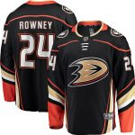 Fanatics Branded Carter Rowney Anaheim Ducks Black Breakaway Player Jersey