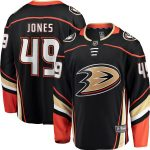 Fanatics Branded Max Jones Anaheim Ducks Black Breakaway Player Jersey