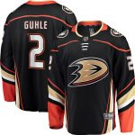 Fanatics Branded Brendan Guhle Anaheim Ducks Black Breakaway Player Jersey