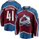 Fanatics Branded Pierre-Edouard Bellemare Colorado Avalanche Burgundy Breakaway Player Jersey
