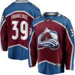 Fanatics Branded Pavel Francouz Colorado Avalanche Burgundy Breakaway Player Jersey