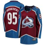 Fanatics Branded Andre Burakovsky Colorado Avalanche Women's Maroon 2017 Breakaway Player Jersey