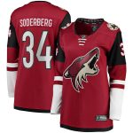 Fanatics Branded Carl Soderberg Arizona Coyotes Women's Garnet 2017 Breakaway Player Jersey