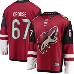 Fanatics Branded Lawson Crouse Arizona Coyotes Garnet Breakaway Player Jersey