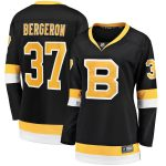 Fanatics Branded Patrice Bergeron Boston Bruins Women's Black Alternate Premier Breakaway Player Jersey