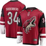 Fanatics Branded Carl Soderberg Arizona Coyotes Garnet Team Color Breakaway Player Jersey