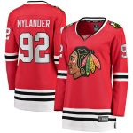 Fanatics Branded Alex Nylander Chicago Blackhawks Women's Red 2017 Breakaway Player Jersey