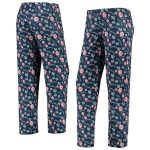 New York Yankees Women's Navy Retro Print Sleep Pants
