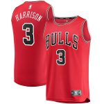 Fanatics Branded Shaquille Harrison Chicago Bulls Youth Red Fast Break Player Jersey - Icon Edition