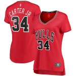 Fanatics Branded Wendell Carter Jr. Chicago Bulls Women's Red Fast Break Player Jersey - Icon Edition