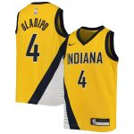 Nike Victor Oladipo Indiana Pacers Youth Gold Swingman Player Jersey - Statement Edition