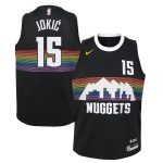 Nike Nikola Jokic Denver Nuggets Youth Black Swingman Jersey Jersey - City Edition