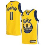 Nike Klay Thompson Golden State Warriors Youth Gold Swingman Player Jersey - Statement Edition