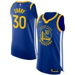 Nike Stephen Curry Golden State Warriors Royal Finished Authentic Player Jersey - Icon Edition