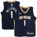 Nike Zion Williamson New Orleans Pelicans Toddler Navy Replica Jersey - Icon Edition