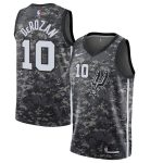 Nike DeMar DeRozan San Antonio Spurs Black City Edition Swingman Jersey