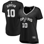 Fanatics Branded DeMar DeRozan San Antonio Spurs Women's Black Fast Break Replica Player Jersey - Icon Edition