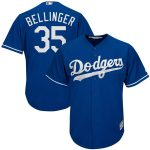 Majestic Cody Bellinger Los Angeles Dodgers Royal Big & Tall Fashion Cool Base Replica Player Jersey