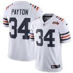 Nike Walter Payton Chicago Bears White 2019 100th Season Alternate Classic Retired Player Limited Jersey