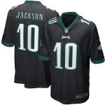 Nike DeSean Jackson Philadelphia Eagles Black Game Jersey