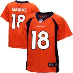 Nike Peyton Manning Denver Broncos Toddler Orange Game Jersey