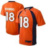 Nike Peyton Manning Denver Broncos Preschool Orange Game Jersey