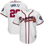 Majestic John Smoltz Atlanta Braves White Big & Tall Cooperstown Cool Base Player Jersey