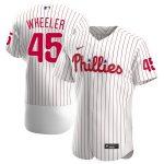 Nike Zack Wheeler Philadelphia Phillies White Alternate 2020 Authentic Player Jersey