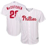 Andrew McCutchen Philadelphia Phillies Youth White/Scarlet Home Replica Player Jersey