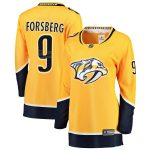 Fanatics Branded Filip Forsberg Nashville Predators Women's Gold Premier Breakaway Player Jersey