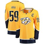 Fanatics Branded Roman Josi Nashville Predators Women's Gold Premier Breakaway Player Jersey