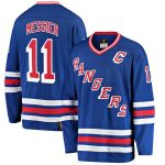 Fanatics Branded Mark Messier New York Rangers Blue Premier Breakaway Retired Player Jersey