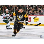 Fanatics Authentic Sidney Crosby Pittsburgh Penguins Unsigned Black Jersey Skating Photograph