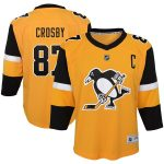 Sidney Crosby Pittsburgh Penguins Youth Gold Alternate Replica Player Jersey