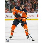 Fanatics Authentic Connor McDavid Edmonton Oilers Unsigned Orange Jersey Skating Photograph