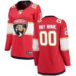 Fanatics Branded Florida Panthers Women's Red Home Breakaway Custom Jersey