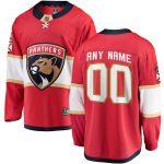 Fanatics Branded Florida Panthers Red Home Breakaway Custom Jersey