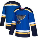 adidas St. Louis Blues Blue Home Authentic Blank Jersey