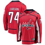Fanatics Branded John Carlson Washington Capitals Youth Red Breakaway Player Jersey