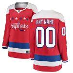 Fanatics Branded Washington Capitals Women's Red Alternate Breakaway Custom Jersey
