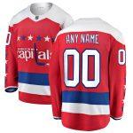 Fanatics Branded Washington Capitals Red Alternate Breakaway Custom Jersey
