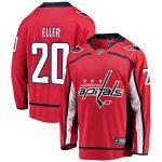 Fanatics Branded Lars Eller Washington Capitals Youth Red Breakaway Player Jersey