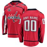 Fanatics Branded Washington Capitals Youth Red 2018 Stanley Cup Champions Home Breakaway Custom Jersey