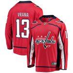 Fanatics Branded Jakub Vrana Washington Capitals Youth Red Breakaway Player Jersey