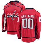 Fanatics Branded Washington Capitals Youth Red Home Breakaway Custom Jersey