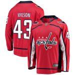 Fanatics Branded Tom Wilson Washington Capitals Youth Red Breakaway Player Jersey
