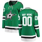 Fanatics Branded Dallas Stars Women's Green Home Breakaway Custom Jersey